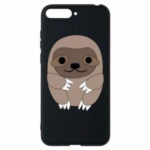 Etui na Huawei Y6 2018 Sloth baby