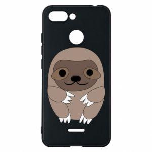 Etui na Xiaomi Redmi 6 Sloth baby
