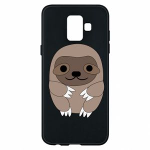 Etui na Samsung A6 2018 Sloth baby
