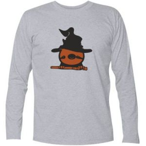 Long Sleeve T-shirt Sloth in a hat