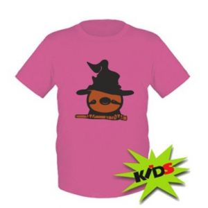 Kids T-shirt Sloth in a hat