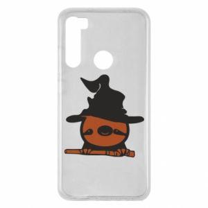 Etui na Xiaomi Redmi Note 8 Sloth in a hat