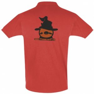 Men's Polo shirt Sloth in a hat