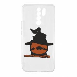 Etui na Xiaomi Redmi 9 Sloth in a hat