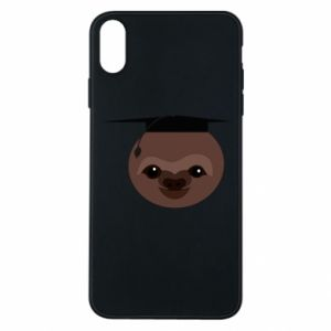 Phone case for iPhone Xs Max Sloth student