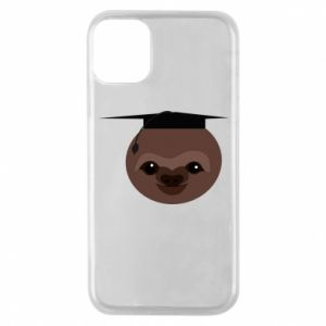 Phone case for iPhone 11 Pro Sloth student