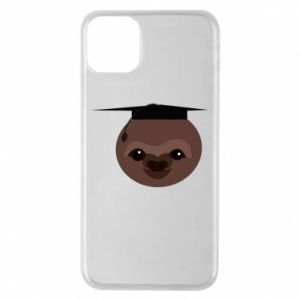 Phone case for iPhone 11 Pro Max Sloth student