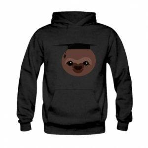 Bluza z kapturem dziecięca Sloth student