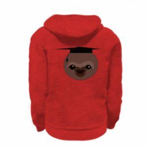 Bluza na zamek dziecięca Sloth student