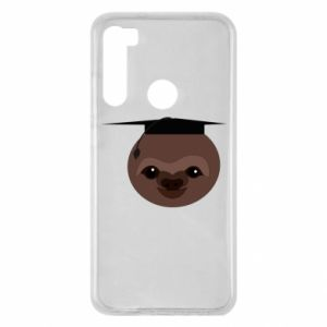 Etui na Xiaomi Redmi Note 8 Sloth student