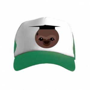 Czapka trucker dziecięca Sloth student