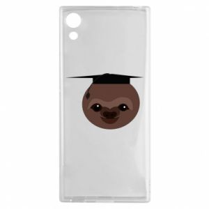Etui na Sony Xperia XA1 Sloth student