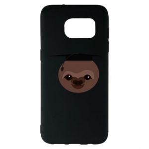 Etui na Samsung S7 EDGE Sloth student