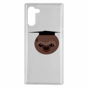 Etui na Samsung Note 10 Sloth student