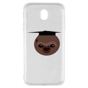 Etui na Samsung J7 2017 Sloth student