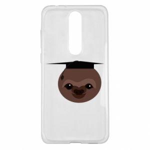 Etui na Nokia 5.1 Plus Sloth student