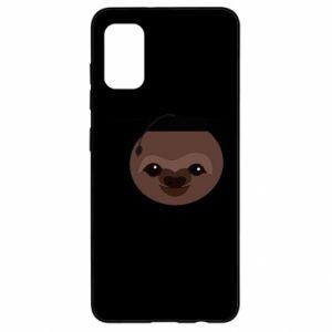 Etui na Samsung A41 Sloth student