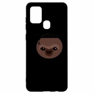 Etui na Samsung A21s Sloth student