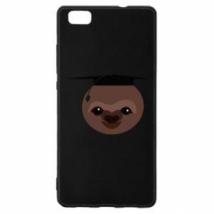 Etui na Huawei P 8 Lite Sloth student