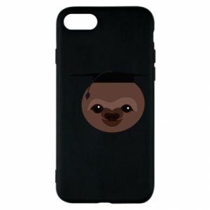 Etui na iPhone SE 2020 Sloth student