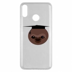 Etui na Huawei Y9 2019 Sloth student