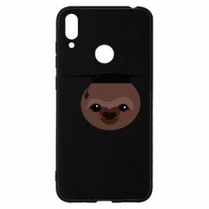 Etui na Huawei Y7 2019 Sloth student