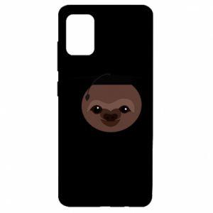 Etui na Samsung A51 Sloth student