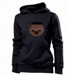 Damska bluza Sloth student - PrintSalon