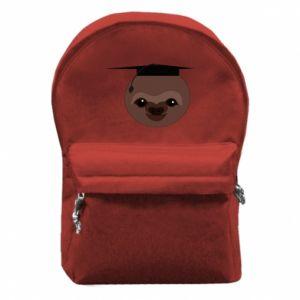 Plecak z przednią kieszenią Sloth student - PrintSalon