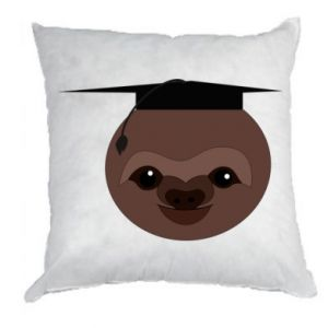 Poduszka Sloth student - PrintSalon
