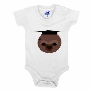 Body dla dzieci Sloth student - PrintSalon