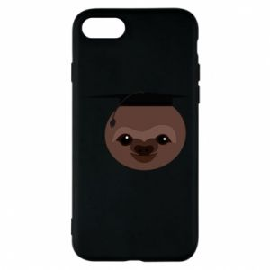 Phone case for iPhone 7 Sloth student