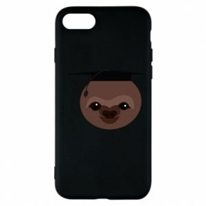 Phone case for iPhone 8 Sloth student
