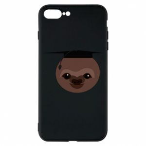 Phone case for iPhone 8 Plus Sloth student