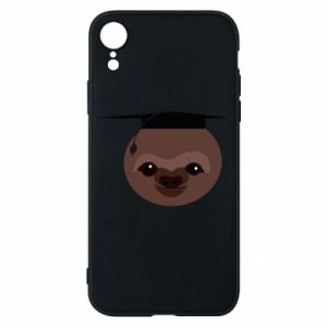Phone case for iPhone XR Sloth student