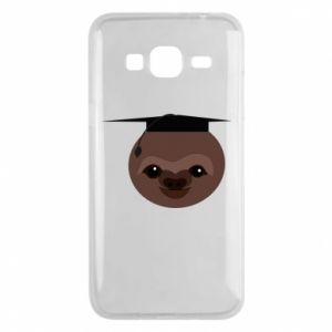 Phone case for Samsung J3 2016 Sloth student