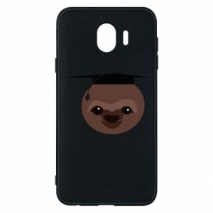 Phone case for Samsung J4 Sloth student