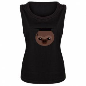 Damska koszulka Sloth student - PrintSalon