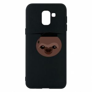 Phone case for Samsung J6 Sloth student