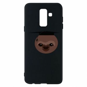 Phone case for Samsung A6+ 2018 Sloth student