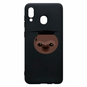 Phone case for Samsung A30 Sloth student