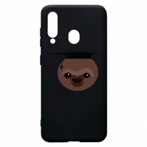 Phone case for Samsung A60 Sloth student