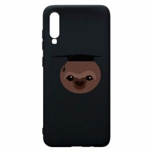 Phone case for Samsung A70 Sloth student