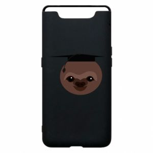 Phone case for Samsung A80 Sloth student