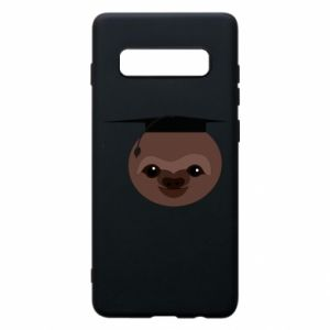 Phone case for Samsung S10+ Sloth student
