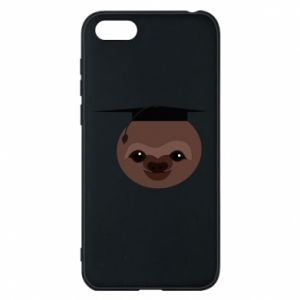 Phone case for Huawei Y5 2018 Sloth student