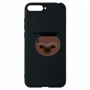 Phone case for Huawei Y6 2018 Sloth student