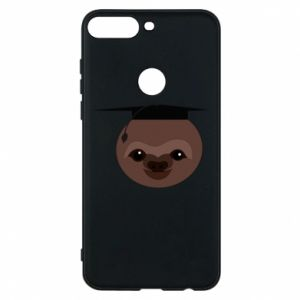 Phone case for Huawei Y7 Prime 2018 Sloth student