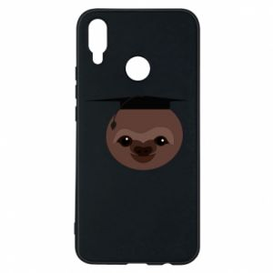 Phone case for Huawei P Smart Plus Sloth student