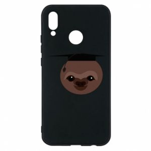 Phone case for Huawei P20 Lite Sloth student